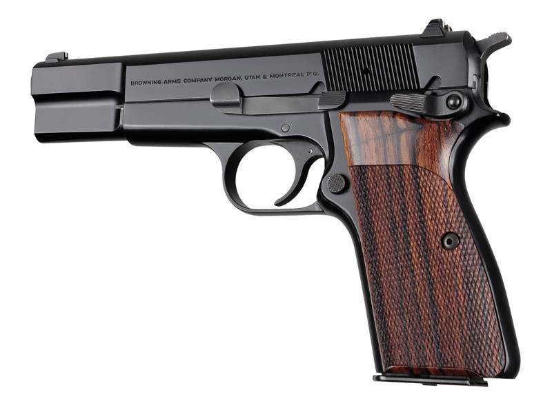 Browning Hi-Power Cocobolo Checkered 09811
