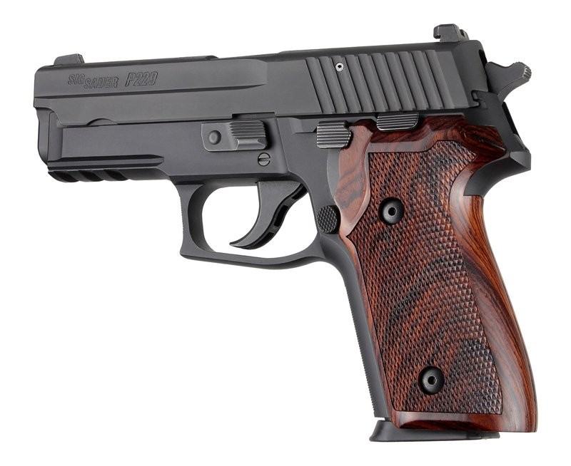 Sig Sauer P228, P229 and M11-A1 Cocobolo wood Checkered 28811