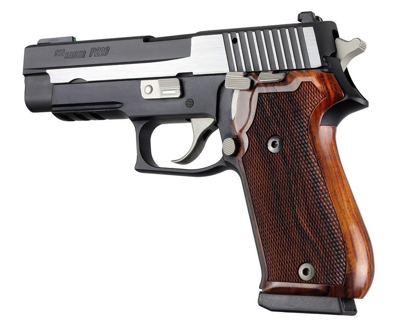 Sig Sauer P220 American Model Cocobolo Wood Checkered 20811