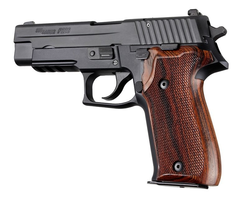 Sig Sauer P226 DA/SA Cocobolo wood checkered 26811