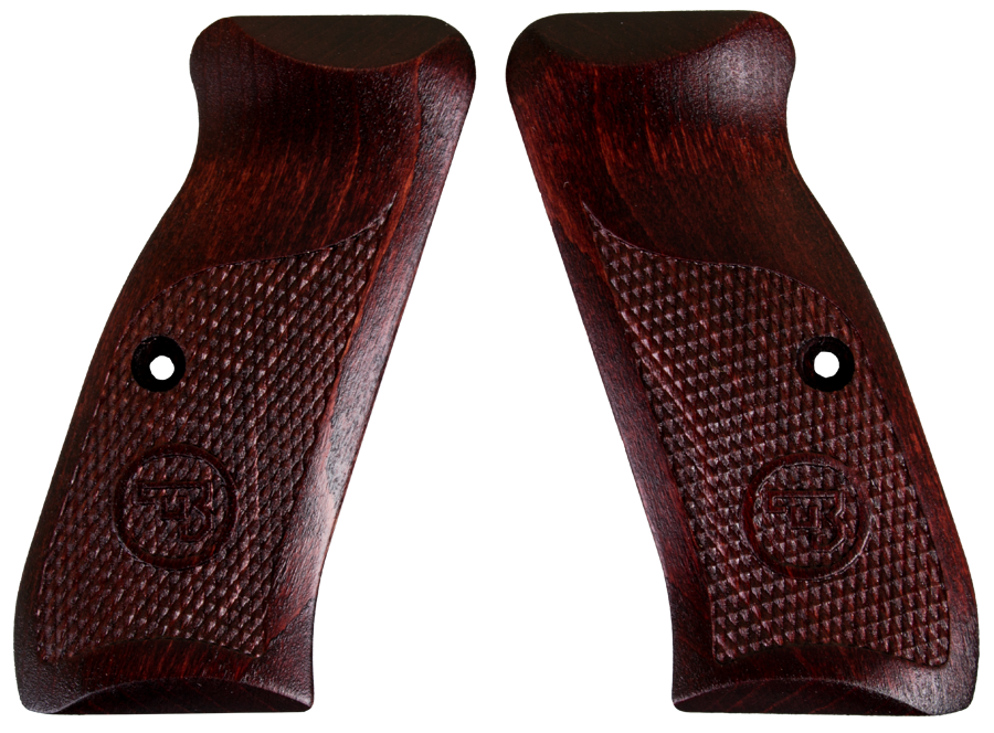 CZ 75 MODELS & SP-01 FACTORY WALNUT GRIP CZ 19108 FREE SHIPPING