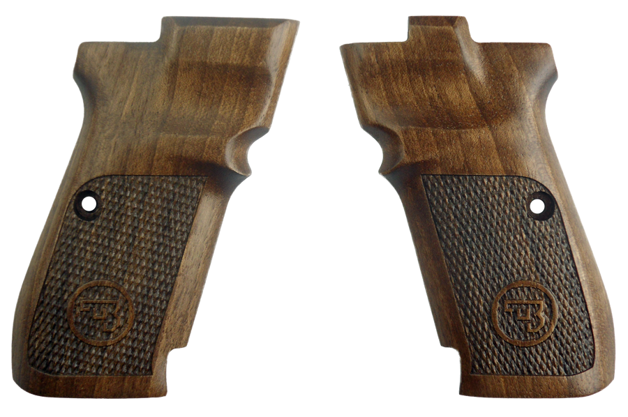 CZ 83 FACTORY WALNUT CHECKERED GRIP 19109