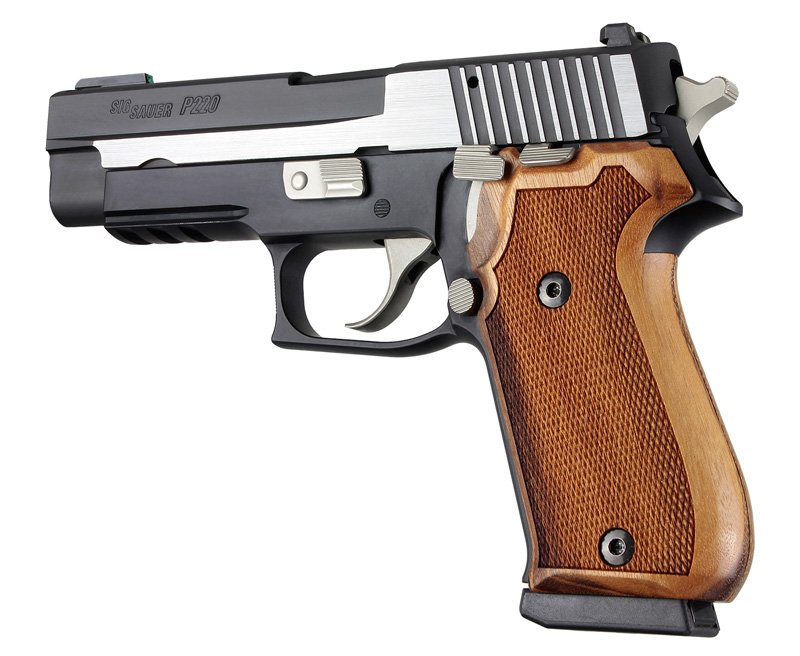 Sig Sauer P220 DA/SA Goncalo American Model Checkered 20211