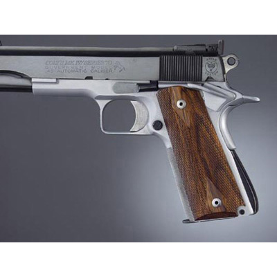 Hogue 1911 Govt. Model Coco Bolo Checkered 45811