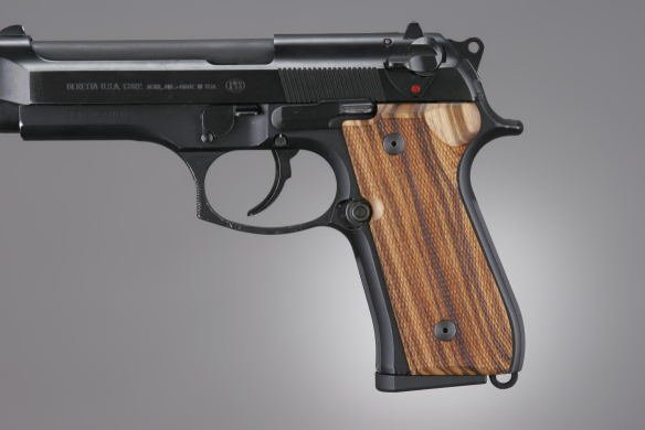 Hogue Beretta 92 or Beretta 96 Goncalo Checkered 92211