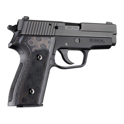 SIG Sauer P225-A1 Checkered G10 - G-Mascus 27157 Black/Gray