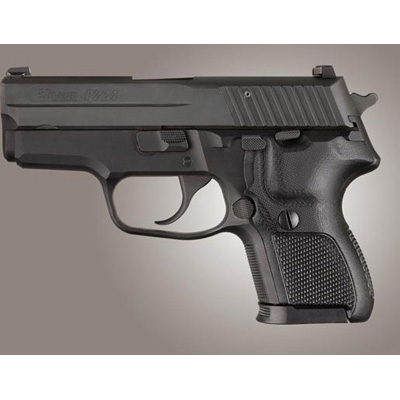 Sig Sauer P224 DA/SA Checkered G10 - Solid Black 22179
