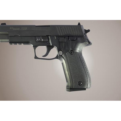 Sig Sauer P226 DA/SA G-10 black checkered grips 26179
