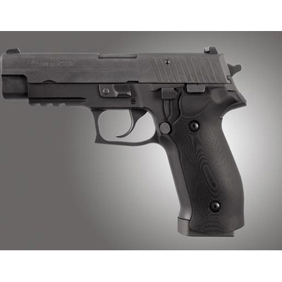 Sig Sauer P226 DA/SA Magrip Smooth G10 - Solid Black 23169