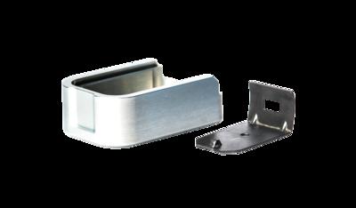 MEC-GAR Aluminum +2 FOR METAL BASE MAGAZINE GRAY F42216-ST-GR