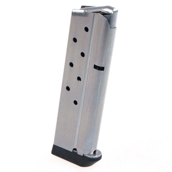 Metalform 1911 Government Commander 9mm 9 RD Stainless Removable Base 9.773