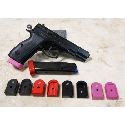 SP EZ CZ 75B 9mm base pads 10, 15 & 17 RD Canik TP9V2/EAA SF BLK