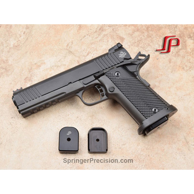 Springer Precision Rock Island Armory 9mm EZ +.25 base pad (BLK)