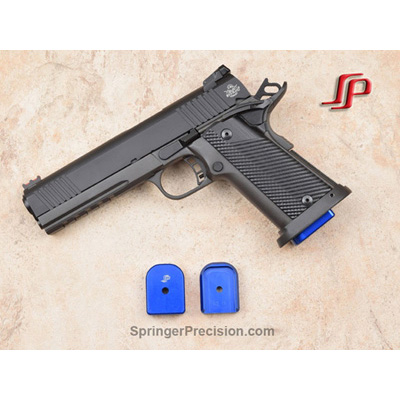 Springer Precision Rock Island Armory 9mm EZ+.25 base pad (BLUE)