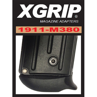 XGrip for Sig Sauer P238, Colt Mustang 7 RD magazine XG1911m380