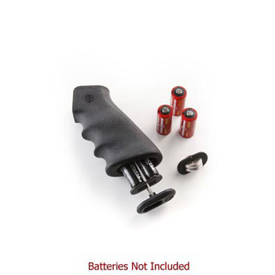 AR15 / M16 Black Rubber Grip with Storage Kit Hogue 15010